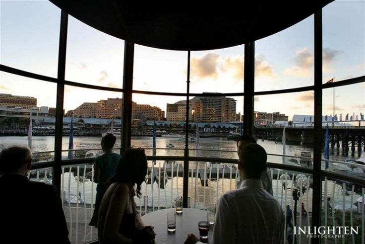 Dockside - Inlighten Photography-  Fun and romantic Sydney wedding reception location idea.  Inside view of Dockside.