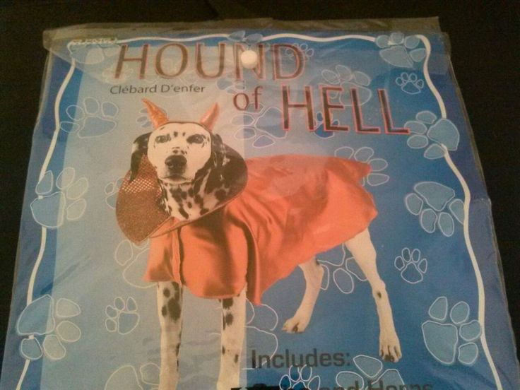 Best 25 small dog halloween costumes ideas on pinterest small hound of hell pet costume bright red small dog halloween costume cape horns fandeluxe Ebook collections