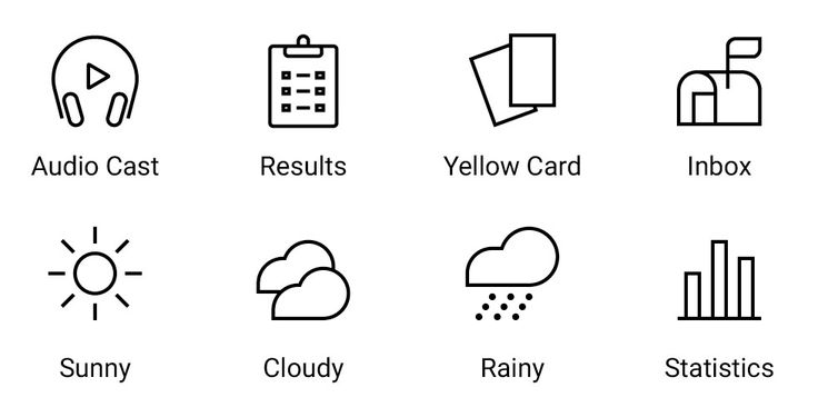 iconwerk. Custom icon system design for your next project. #icon #picto