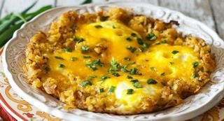 Ingredients  1 tablespoon vegetable oil 4 1/2 cups (1/2 of 30-ounce package) frozen shredded hash browns, partially thawed 1 tablespoon McCormick® Perfect Pinch® Bacon & Chive Seasoning 4 eggsRead more ›