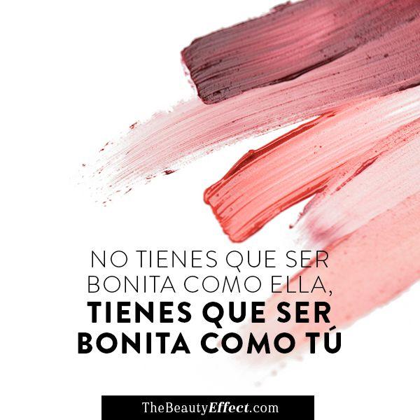 Dejen de compararse con las demás, no hay nadie cómo ustedes #BeautyInspiration