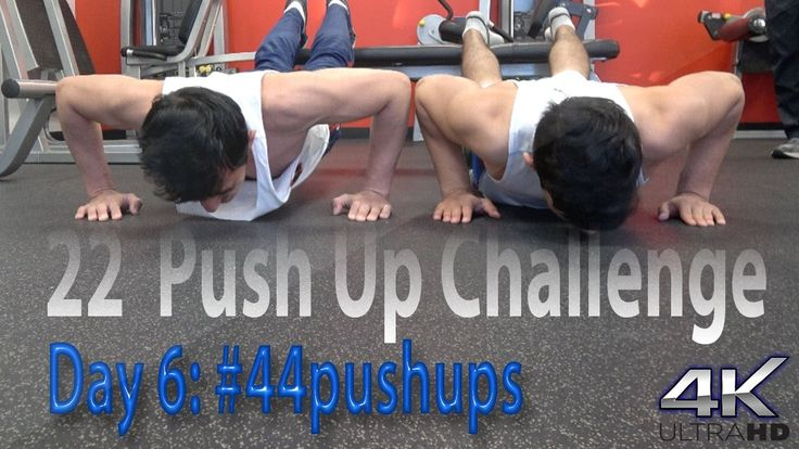 Day 6 | #44pushups for #22KILL | At The Gym With The Crew | AB Workout |...