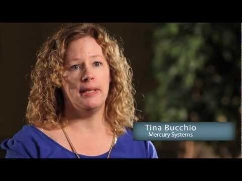 Tina Bucchio of Mercury Systems shares the company's creative solution for streamlining the lead capture process at tradeshows.