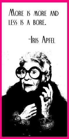 iris apfel quotes - Google Search