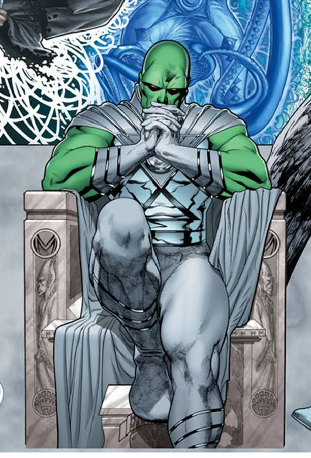 White-Lantern-Martian-Manhunter.jpg (612×901)