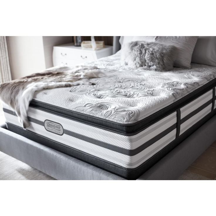 South Haven California King Size Luxury Firm Pillow Top Low Profile Mattress Set