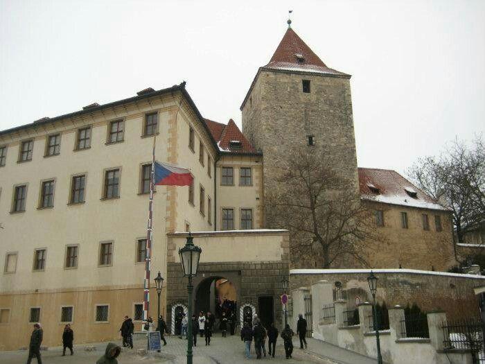 Torre Nera del Castello di Praga XII secolo