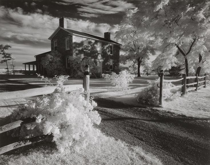 Minor White. Cobblestone House. 1958