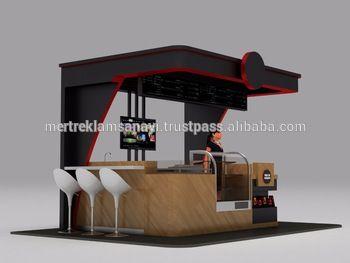 Sweet tooth indoor kiosk mall food kiosk modular kiosk for Indoor food kiosk design