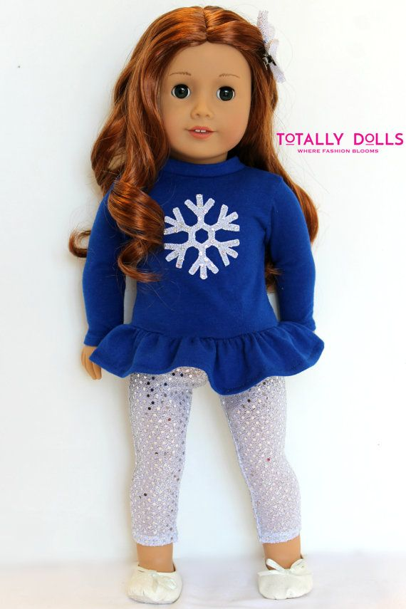 18 Inch Girl Doll Clothing Winter Holiday Royal by TotallyDolls