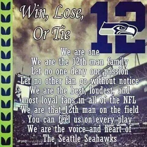 Seattle Seahawks - 12th Man