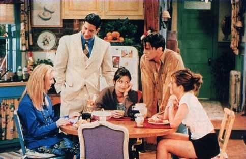 Phoebe,Ross,Monica,Joey and Rachel