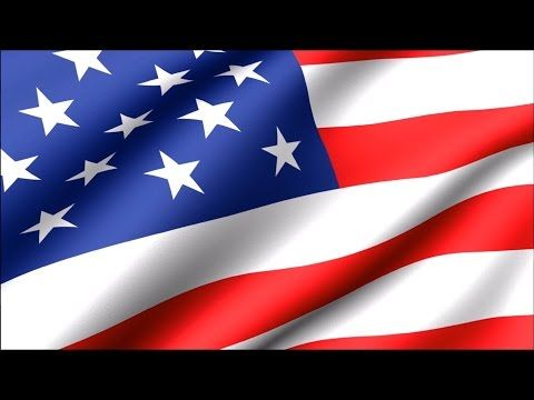 American flag Waving 30 min - YouTube