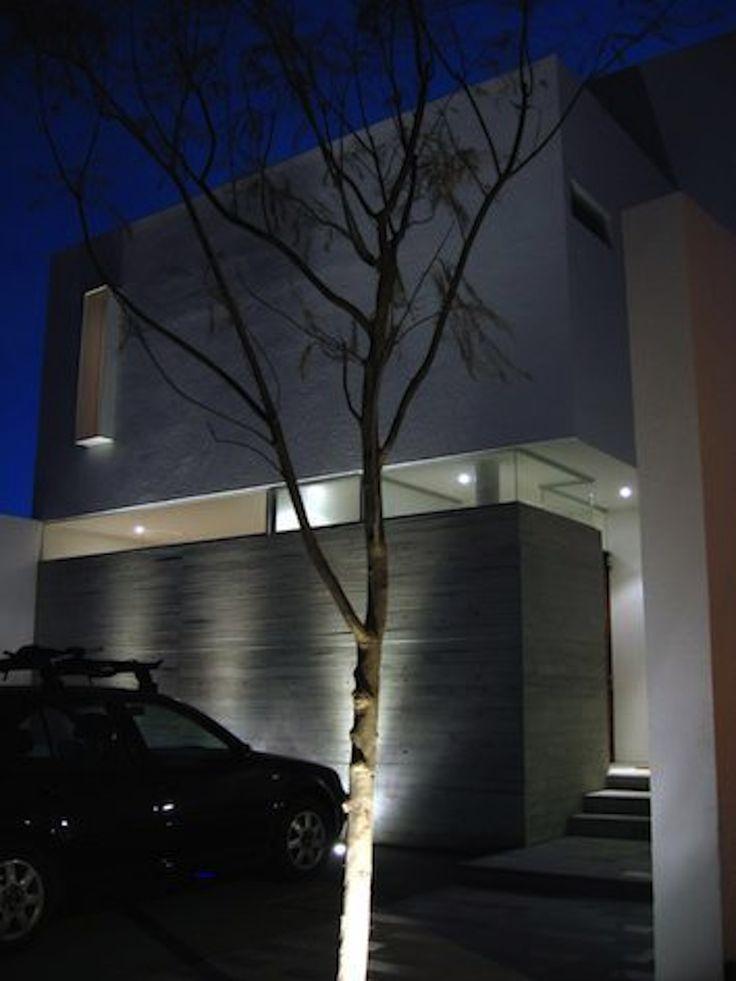 Fachada principal Casa DM   Dionne Arquitectos #architecture #design