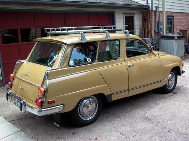 13 1972 Saab 95 V4 wagon