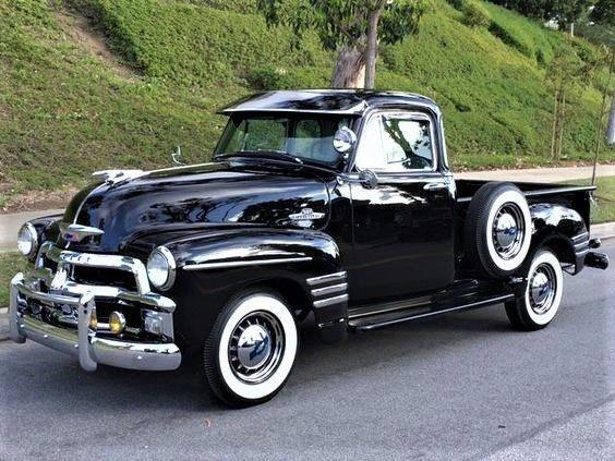 Ideen für die Lagerung von Pickups #Pickuptrucks   – 55 Chevy