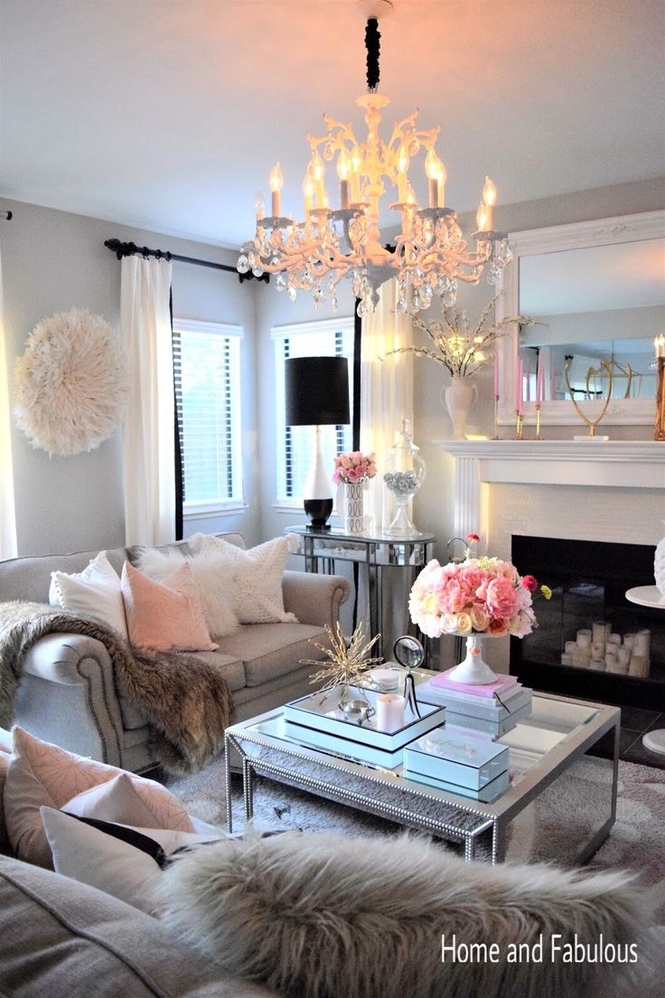 This Mirrored Table From Home Goods Is Just The Right Amount Of Girly And  Elegant.