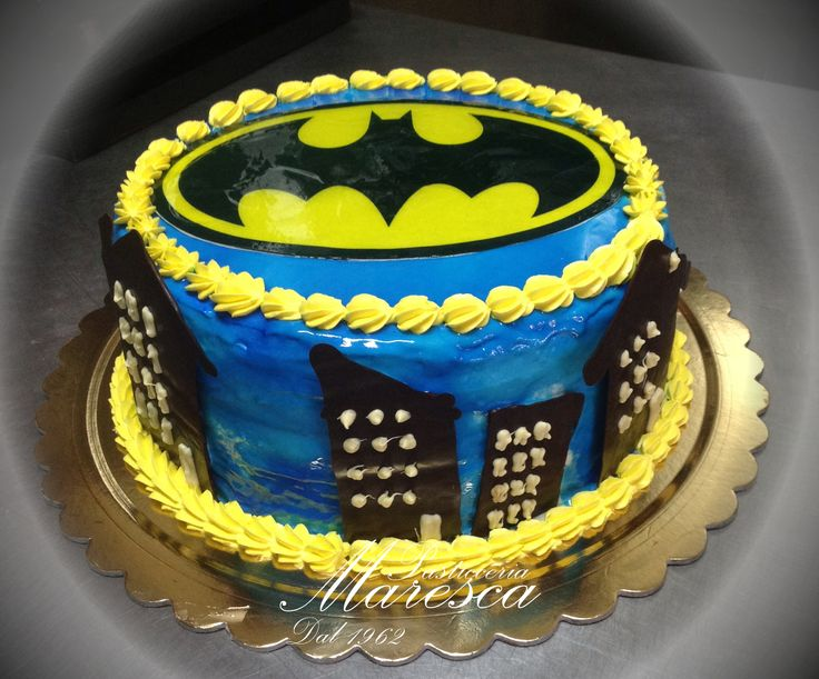 Batman  www.pasticceriamaresca.it