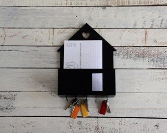Shabby Chic Lavagna casetta porta lettere country Shab