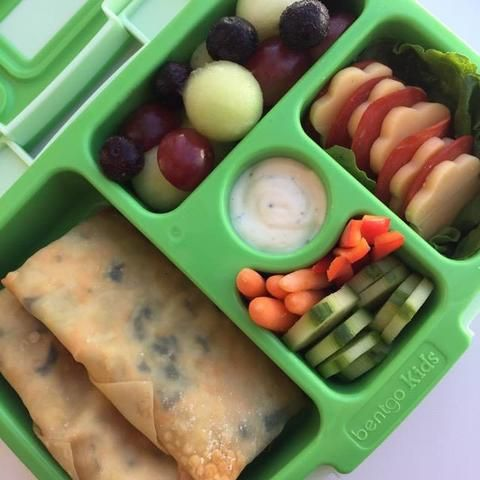 Looking for a fun and delicious meal for your kids that's also full of healthy veggies? Try out these Veggie-Eggy rolls!  They cook up in no time, and your kids will ask for them by name.