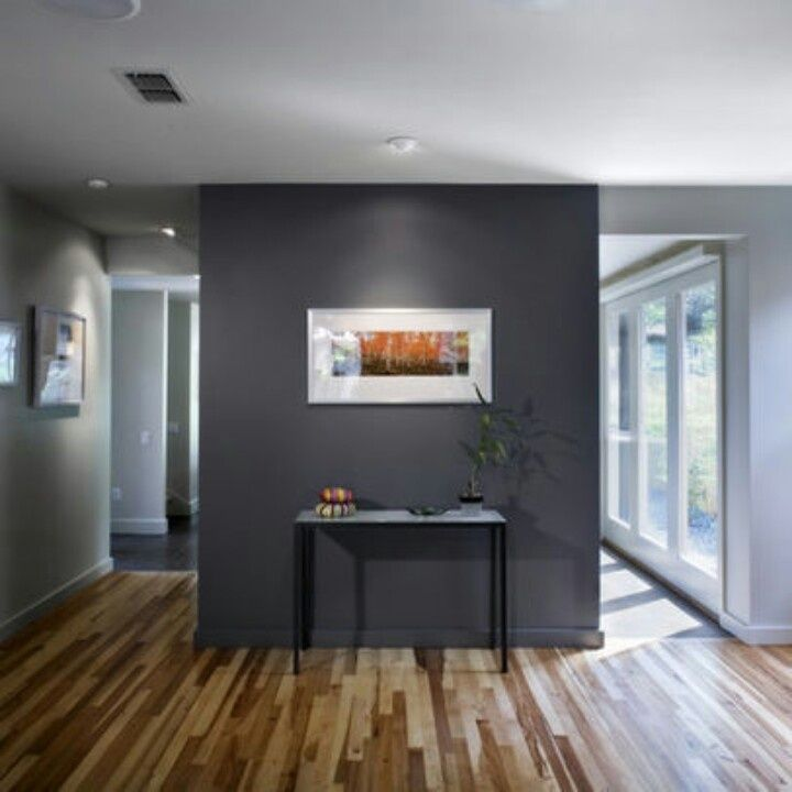 Slate Grey Accent Wall