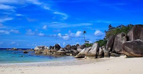 Matras Beach Bangka Belitung Indonesia