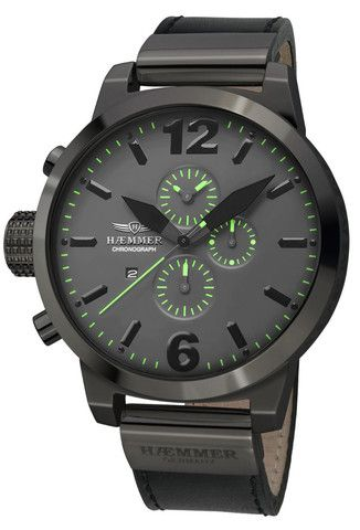 Haemmer Germany, HC-30 Asprezza, Big Face watch, Oversized watches   Evosy - The Premier Online Destination for Watches and Accessories