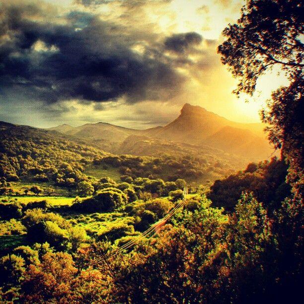 Ongamira, en la provincia de Córdoba, Argentina. Este paisaje me recuerda la comarca de Tolkien