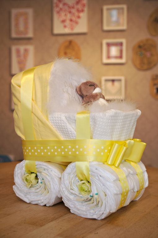 Pram - baby stuff ...I so wanna make this for my G'baby shower