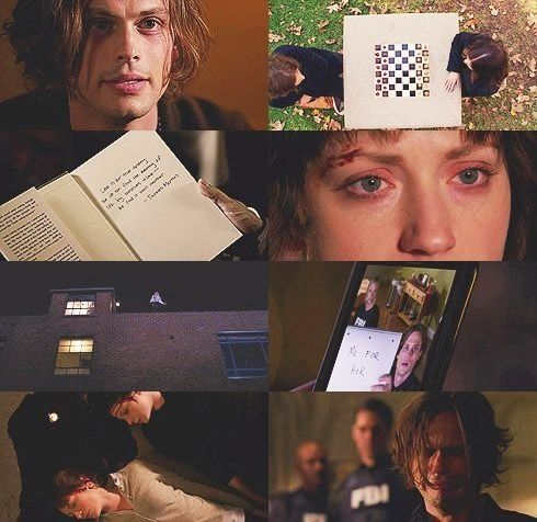 reid/maeve - I think I speak for all Criminal Minds fans when I say that the last scene where he's literally on his knees sobbing is just heartbreaking.