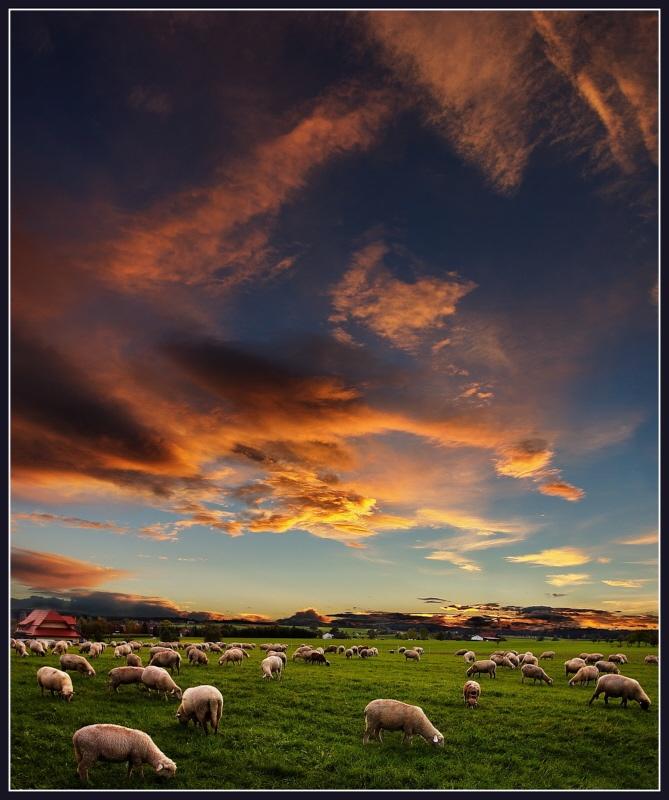 Il cielo d'Irlanda...
