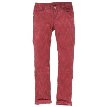Scotch Rbelle - Broek Le Parisienne bordeaux rood