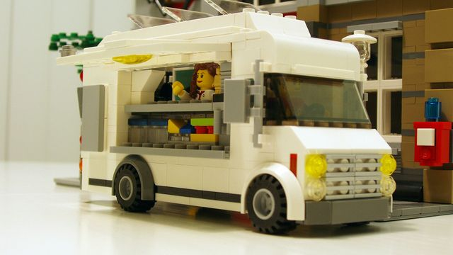 lego food truck instructions