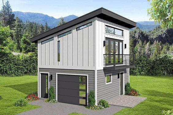 Plan 68557vr Versatile Modern Carriage House Plan Garage Plans With Loft Carriage House Plans House Plan With Loft