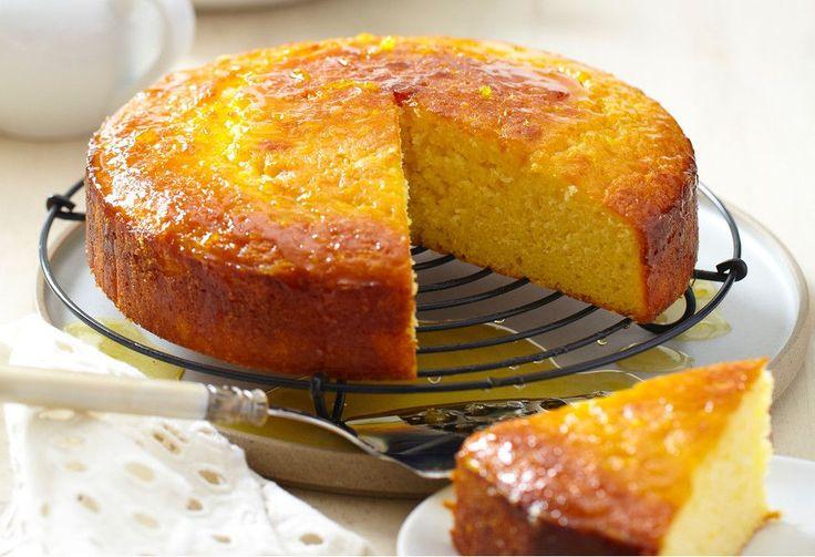 A classic orange cake that stays wonderfully moist.