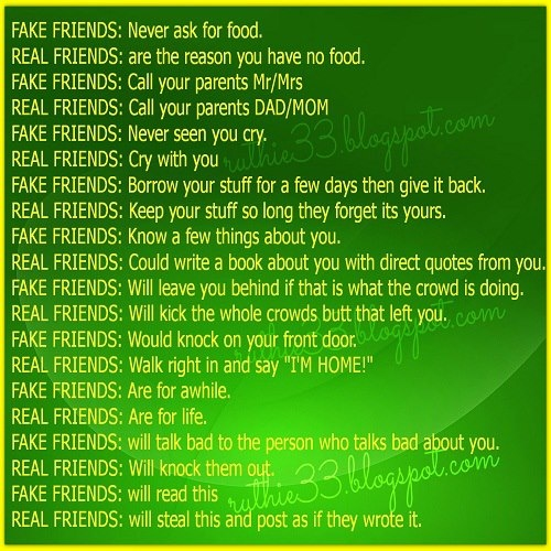 """Quotes For True Friends And Fake Friends: × × """"Friends/Fake Friends"""" × ×"""
