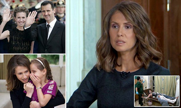 British-born Asma Al-Assad, wife of Syrian president Bashar Al-Assad, has given a rare interview where she said despite facing danger, she would not be fleeing Syria with her children.