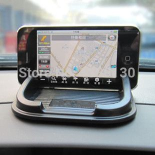Free shipping car accessories Anti Slip pad Rubber Mobile Phone Shelf Antislip Mat For GPS/ MP3/ Cell Phone