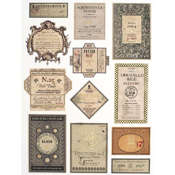 Potion Labels: Premium Collection