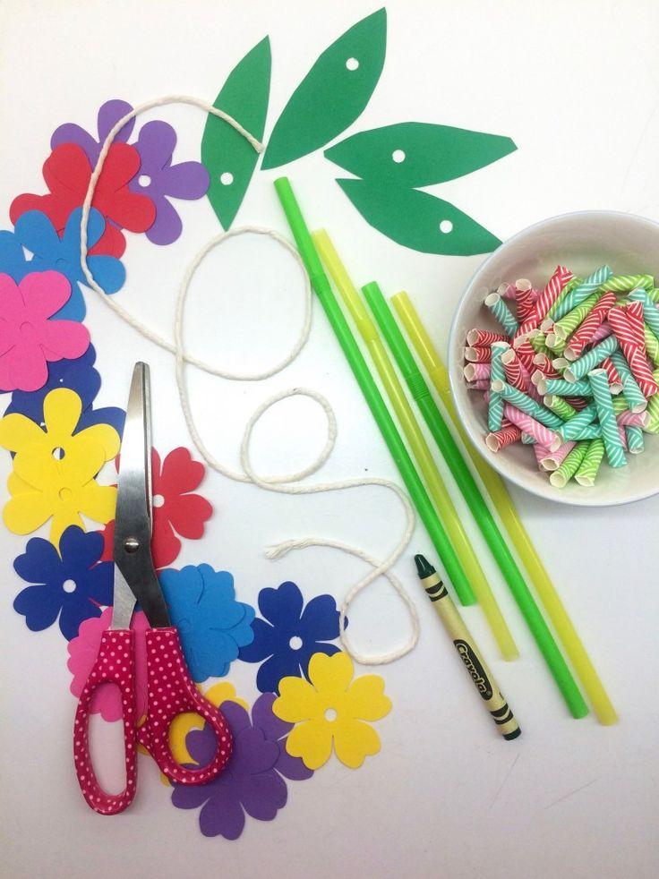 Lei Supplies- Hawaiian Lei & Grass Crown Craft Pro…
