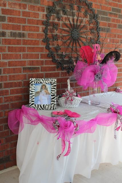 Tulle Bridal Shower Decoration Ideas. Tulle is a very lightweight, sheer woven mesh fabric that has long been part of a bride's ensemble. But that's only the beginning of its many bridal uses.