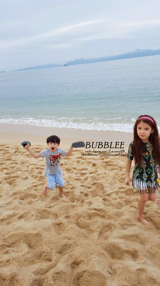 Lauren and Cooper in Thailand