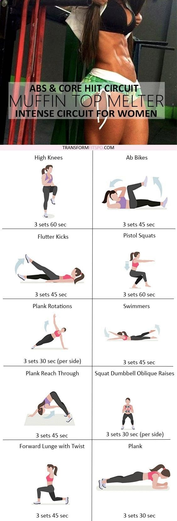 Follow Personal Trainer SuperDFitness at Pinterest.com/SuperDFitness Now and share if this workout gave you serious results! Read the post for all the workout info!