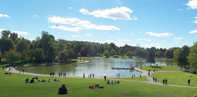 Beaver Lake Mount royal Montreal