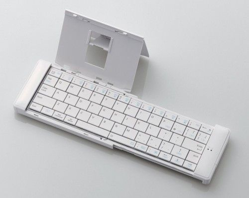 Pocket Keyboard is a minimal design created by Japan-based firm Elecom. The keyboard uses wireless bluetooth technology to connect with its ...