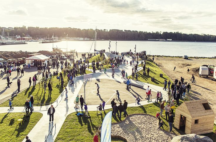LEMVIG Skatepark,Courtesy of EFFEKT