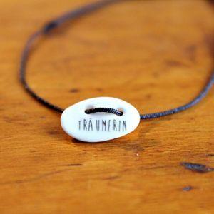 TRÄUMERIN  Armbändchen/Bracelet Keramikschmuck ceramicjewelry Armcandy