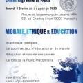 """L'Institut Maçonnique de France - Section Provence sous l'égide de la Grande Loge Mixte de France (GLMF) organise une Colloque """"morale, éthique, éducation"""""""