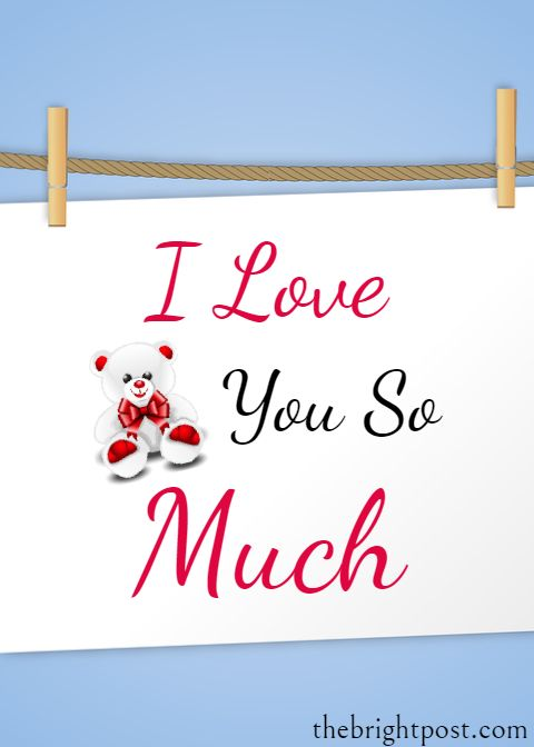 Beautiful Images Of I Love You So Much I Love You So Much Status
