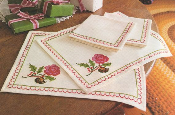 ♥´¨) ¸.•´ ¸.•*´¨)¸.•*¨) (¸.•´ (¸.•`♥ INSTANT DOWNLOAD!  Includes: cross stitch rose pattern  Type : cross-stitch  You will find a link to your